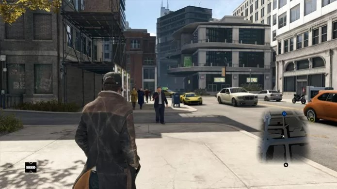Gameplay de Watch Dogs não foi tão impressionante (Foto: Divulgação/Ubisoft)