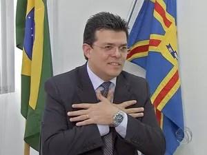 Prefeito de Campo Grande, Gilmar Olarte (Foto: Reprodução/TV Morena)