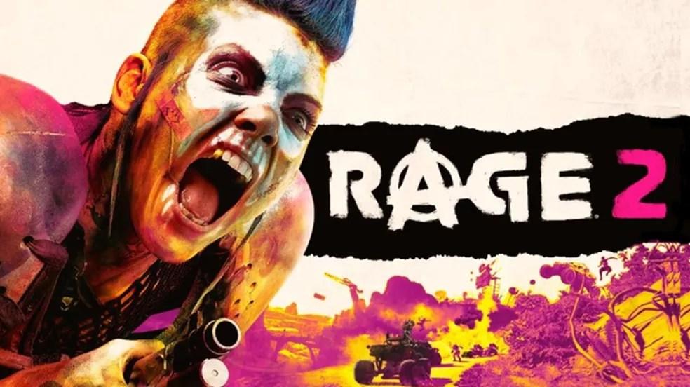Rage 2 aprimora a fórmula do primeiro jogo e promete muita ação frenética — Foto: Divulgação/id Software