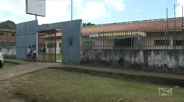 Escola Juvêncio Nogueira foi arrombada pela quarta vez, segundo os moradores da região — Foto: Reprodução/TV Mirante