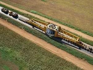 Rotor transportado pela BR-163 (Foto: Divulgação/ Rota do Oeste)