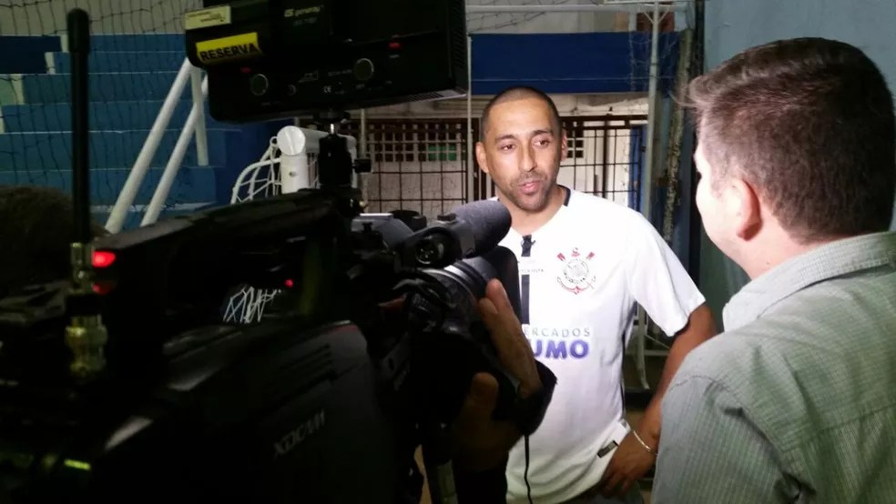 Serginho de volta a Guarulhos (Foto: Marcel Merguizo)