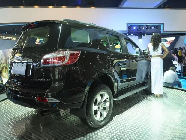 Chevrolet apresente a nova Trailblazer (Foto: Flavio Moraes/G1)