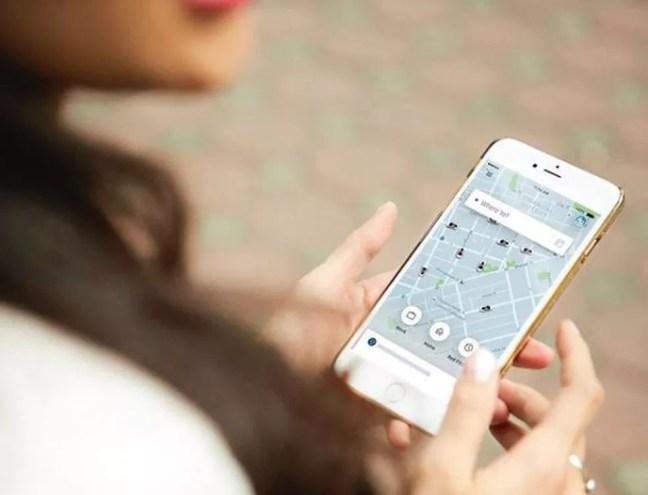 Gorjetas podem ser pagar através do app do Uber — Foto: Divulgação/ Uber