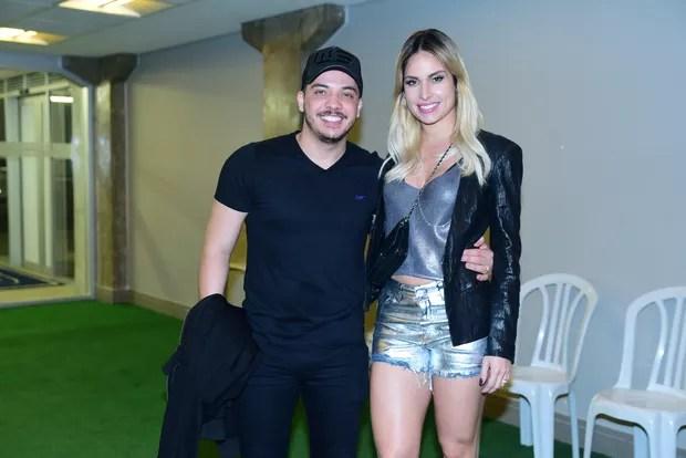 Wesley Safadao com a esposa Thyane Dantas (Foto: Leo Franco)
