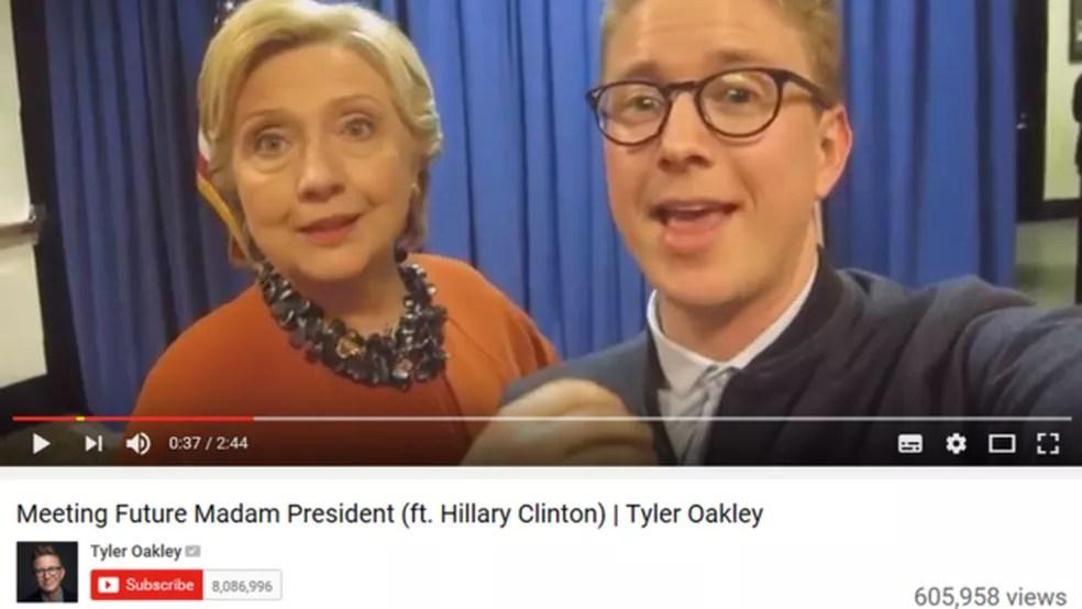 Tyler Oakley (Foto: Reprodução/YouTube)
