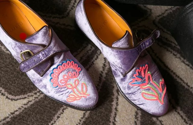 Os slippers de Peter Pilotto (Foto: ImaxTree)