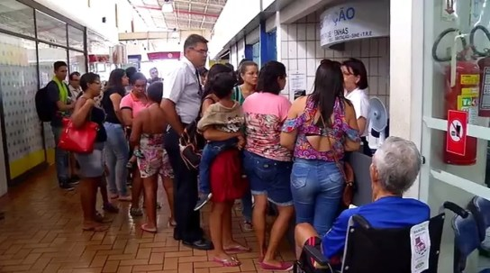 Horário estendido para emissão de documento pretende diminuir filas nas Centrais de Natal (Foto: Reprodução/Inter TV Cabugi )