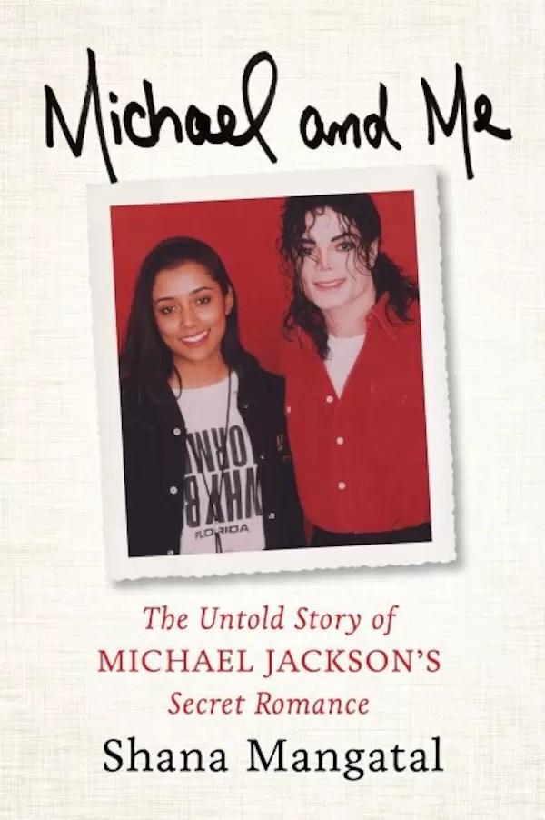 A capa do livro da ex-namorada de Michael Jackson (Foto: Reprodução)