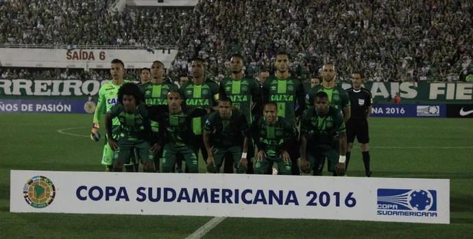 Chapecoense Sul-Americana (Foto: Giba Pace Thomaz/Chapecoense)