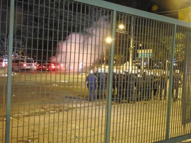 São Paulo confusão Morumbi (Foto: Marcelo Hazan)