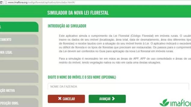 sustentabilidade_aplicativo_imaflora (Foto: Reprodução)