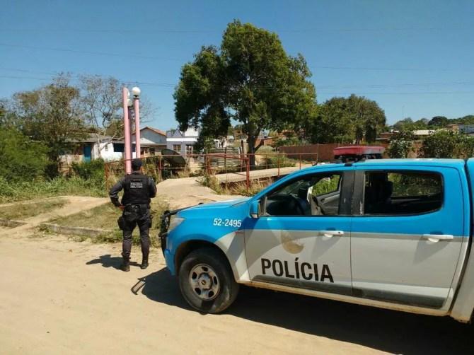 Polícia Militar aumenta policiamento em Araruama, no RJ (Foto: 25º BPM)