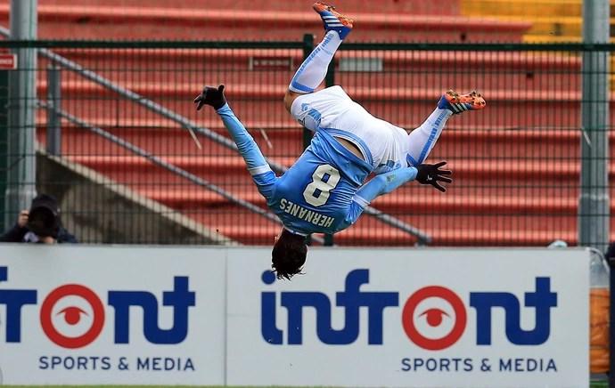 hernanes lazio gol (Foto: AP)