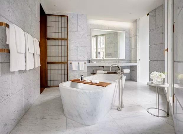 Banheiro do Hotel Cafe Royal (Foto: Reprodução/ Hotel Cafe Royal)
