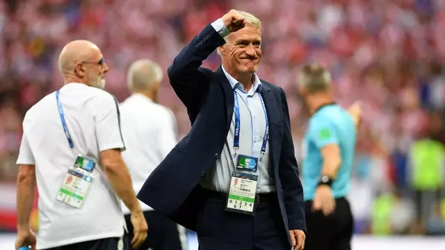 Didier Deschamps, técnico da França