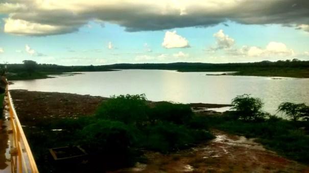 Barragem de Brotas, em Afogados da Ingazeira (Foto: Divulgação/Compesa)