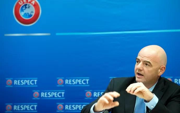 Gianni Infantino é o secretário-geral da Uefa (Foto: AP)