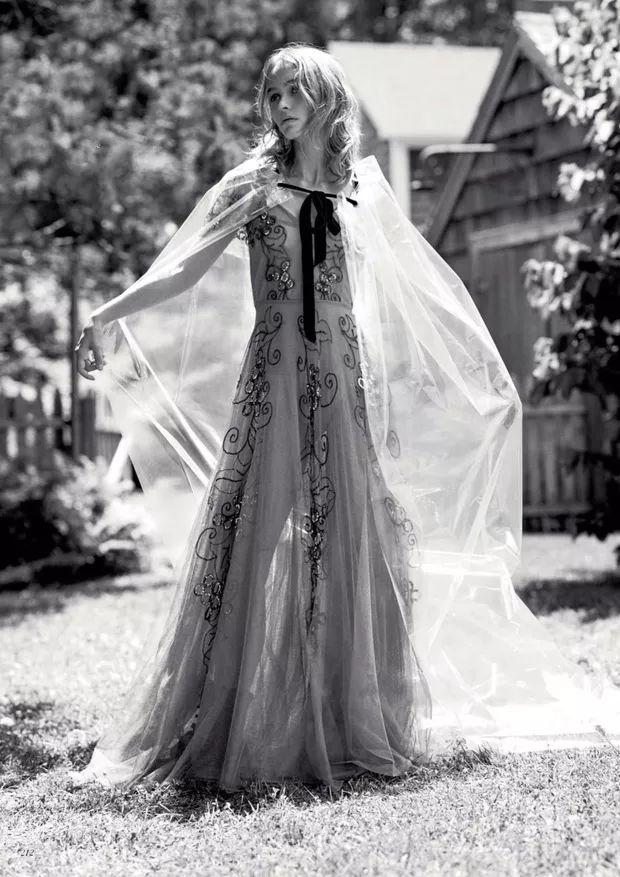 Lily-Rose Depp  (Foto: Reprodução/ Vogue Uk)