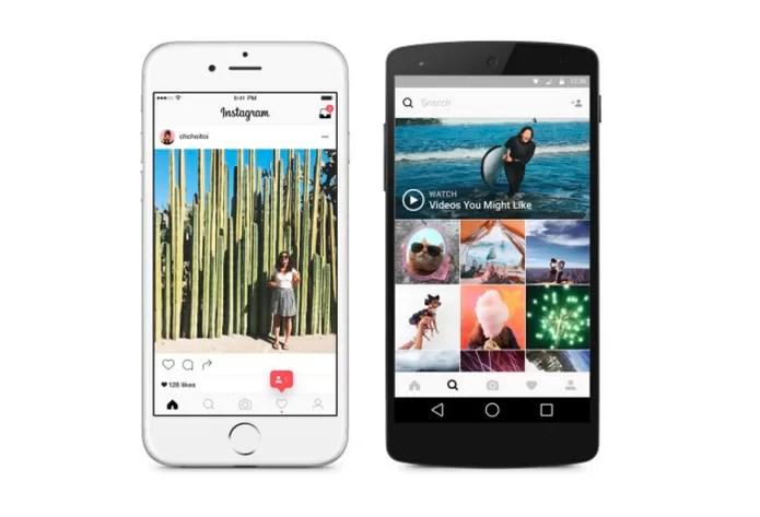 Instagram vai mudar também por dentro; veja como fica o feed de fotos (Foto: Divulgação/Instagram)