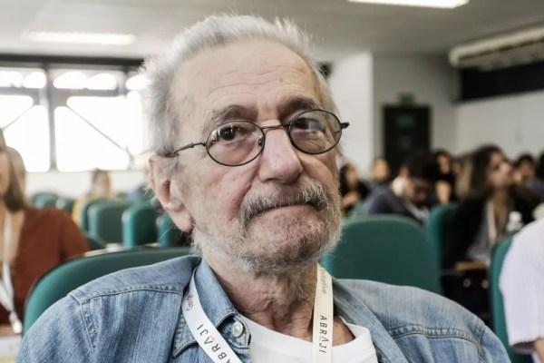 Claudio Weber Abramo, no Congresso da Abraji, em junho (Foto: Alice Vergueiro/Abraji)