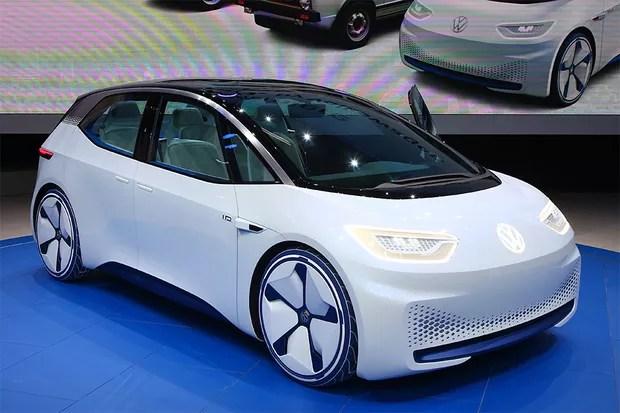 Volkswagen I.D. no Salão de Paris 2016 (Foto: Newspress)
