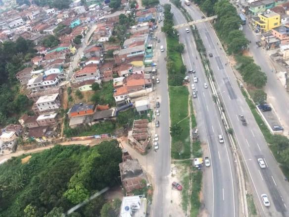 Imagens aéreas mostram área que será atingida pela ação (Foto: Ascom PRF)