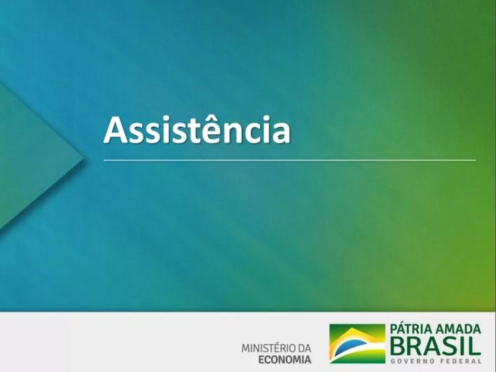 Proposta de assistência apresentada pelo governo para reforma da Previdência — Foto: Reprodução/Ministério da Economia