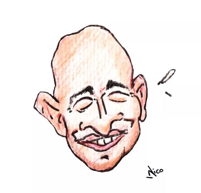 Nico faz homenagem a Paulo Gustavo — Foto: Nico/Associação dos Cartunistas do Brasil