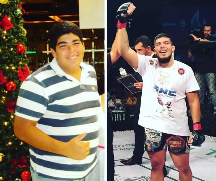 Carlos Boi, peso-pesado do UFC (Foto: reprodução/Instagram)