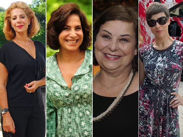 Ângela Vieira, Totia Meireles, Claudia Mello e Maria Paula vão estar no Encontro (Foto: Encontro com Fátima Bernardes/TV Globo)