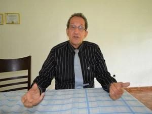 Diretor clinico do Hospital Regional (HR) de Ariquemes (RO), o médico Antonio Nóbel Aires Moura (Foto: Eliete Marques/G1)