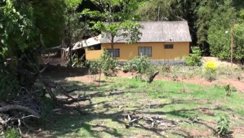 Casa da mulher onde ocorreu o crime em outubro de 2017 (Foto: Chico Francelin/ Arquivo EPTV)