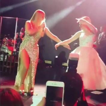 Mariah Carey com a noiva (Foto: Reprodução/Instagram)