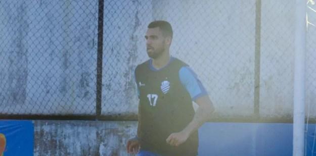 Lucão está na lista de pendurados do CSA — Foto: Augusto Oliveira/Ascom CSA