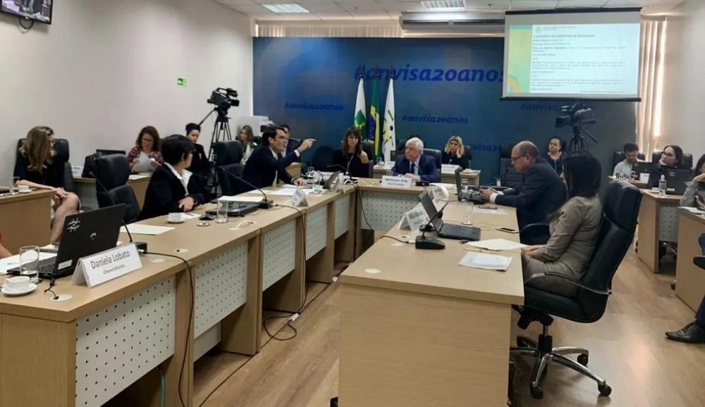 Diretoria Colegiada da Anvisa avalia propostas de consulta pública para aprovação do plantio de maconha no Brasil — Foto: Rafaella Vianna/TV Globo