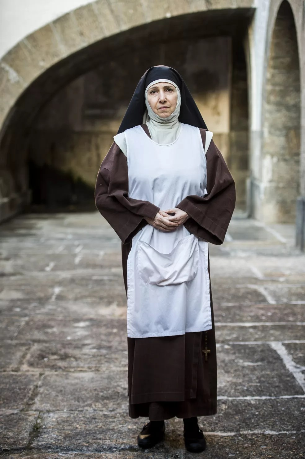 Malu Valle como Irmã Margarida (Foto: João Miguel Junior/TV Globo )