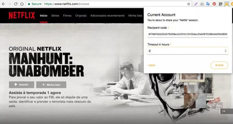 Como compartilhar uma conta Netflix sem dar a senha — Foto: Reprodução/Nicolly Vimercate