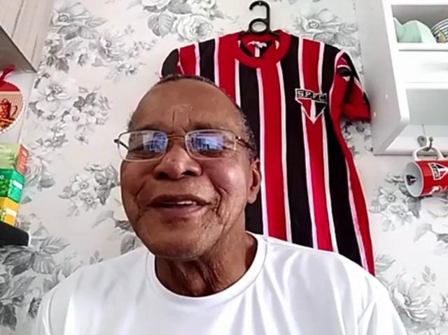O ex-atacante Paraná, durante entrevista ao Esporte Espetacular. Hoje ele mora em Sorocaba — Foto: Reprodução