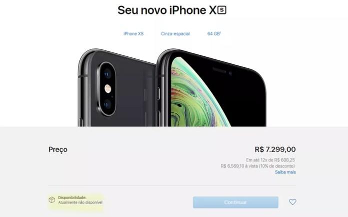 Apple revela preços do novo Iphone X no Brasil — Foto: Reprodução