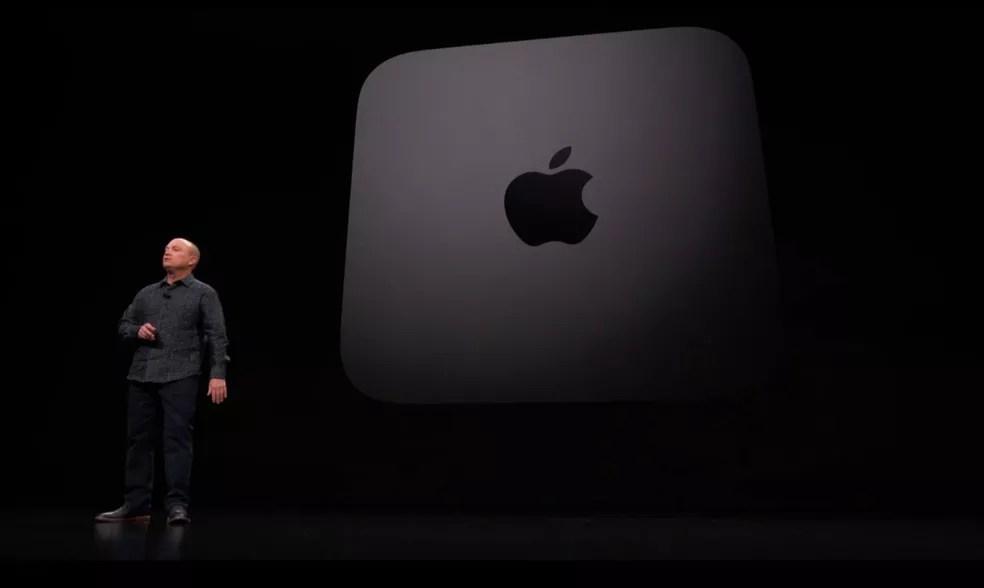 Mac Mini será o primeiro computador da fabricante com os novos chips ARM, em kit voltado para desenvolvedores — Foto: Divulgação/Apple