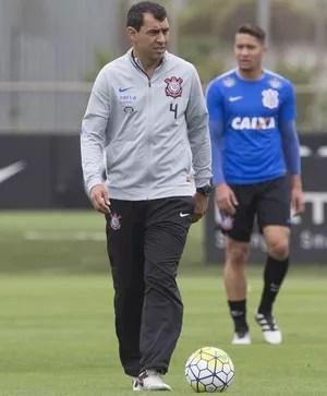 Treino Fábio Carille Corinthians  (Foto: Daniel Augusto Jr/Ag. Corinthians )