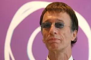 Robin Gibbs, que morreu neste domingo aos 62, em foto de 2007 (Foto: Reuters)