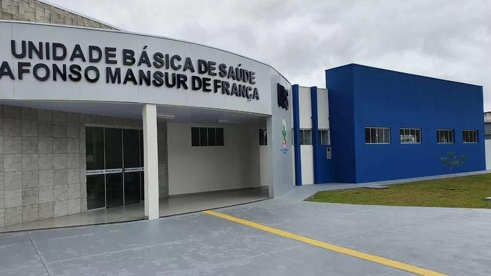 Unidade Básica de Saúde Afonso Mansur em Vilhena (RO) — Foto: Divulgação/Prefeitura de Vilhena