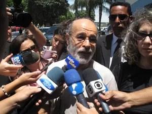 """Osmar Prado sobre Marcos Paulo: """"Ele é uma pessoa iluminada. Vai deixar muita saudade"""" (Foto: Janaina Carvalho/G1)"""