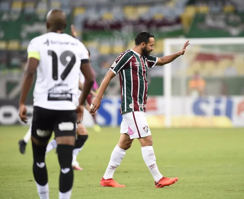 Yago Felipe, Fluminense x Ceará — Foto: André Durão / ge