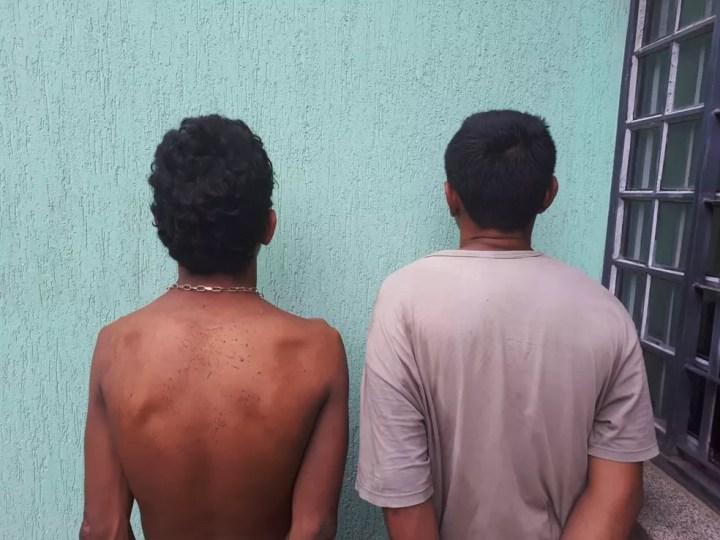 Polícia prende autores de roubo e receptação em Campo Grande — Foto: Polícia Militar/Divulgação