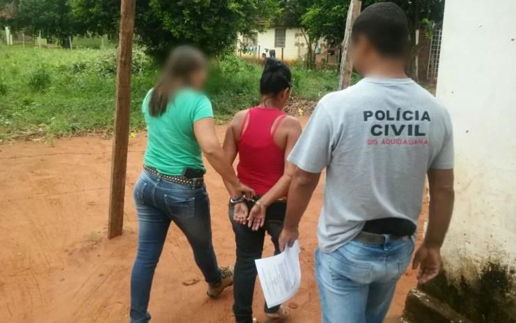 Avó foi a quarta suspeita presa de torturar menino de 4 anos em Campo Grande (MS) (Foto: Divulgação/ Polícia Civil de MS/Arquivo)