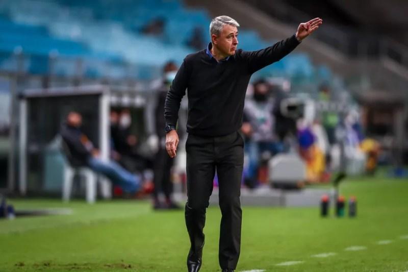 Tiago Nunes, técnico do Grêmio — Foto: Lucas Uebel/Grêmio