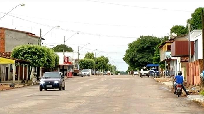 Moradores de Gurupi estão assustados com a violência (Foto: Reprodução/TV Anhanguera)